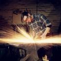 Artist Blacksmith Chris Hughes