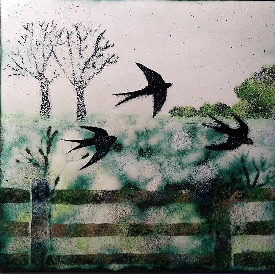 Jeanette Hannaby- Enamel Artist