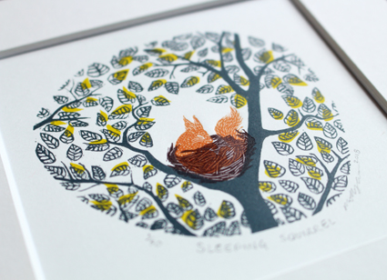 Molly Lemon- Wood Engraver