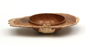 Mallee burr natural edge bowl by Paul Hannaby Creative Woodturning
